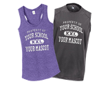 Custom Sleeveless T-Shirts