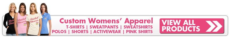 Custom Womens Apparel and Ladies Sportswear