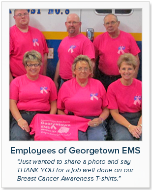 Employee of Georgetown EMS - LogoFans