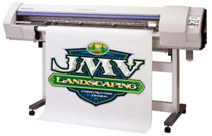 Printer for Custom Full Color Banners