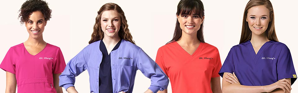 ee9d3df2825 Custom Scrubs & Embroidered Medical Uniforms - LogoSportswear