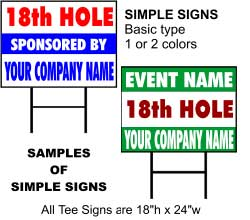 Custom Coroplast Signs