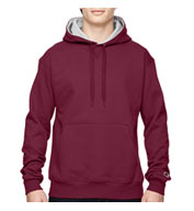 Custom Champion 90/10 Heavyweight Cotton Pullover Hooded Sweatshirt Mens