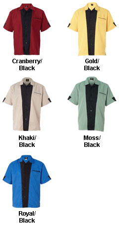 Adult Monterey Bowling Shirt - All Colors