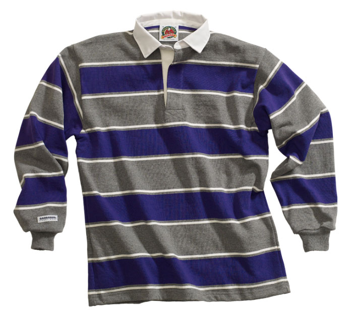 Mens Soho Stripes Rugby Jersey