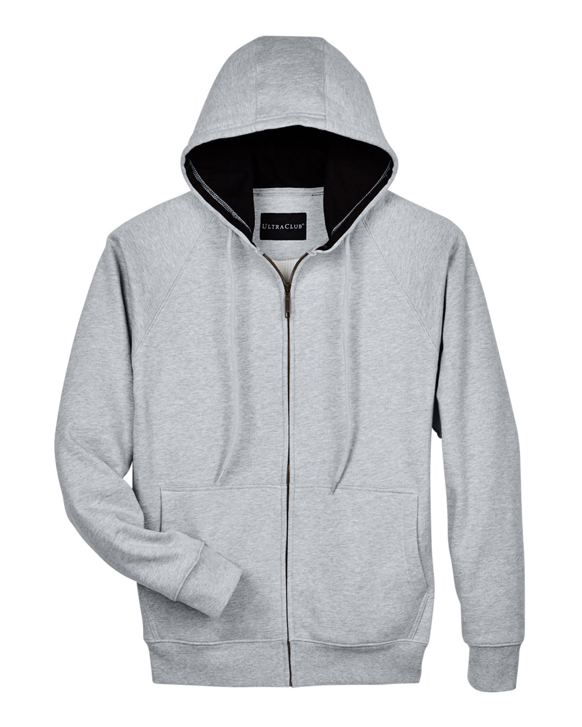 UltraClub Rugged Wear Thermal-Lined Full-Zip Jacket