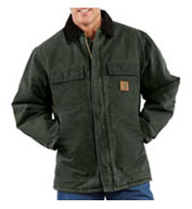 Custom Sandstone Traditional Mens Coat Arctic Quilt Lined