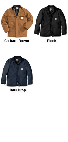 Carhartt Duck Traditional Coat / Arctic Quilt Lined - All Colors