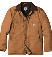 Custom Carhartt Duck Traditional Coat / Arctic Quilt Lined Mens