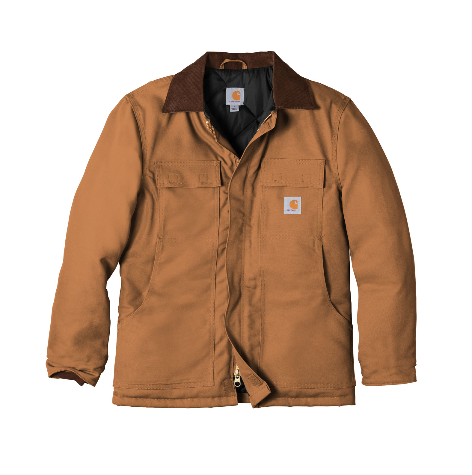 Carhartt Duck Traditional Coat / Arctic Quilt Lined