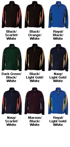 Adult Tricot Knit Warm-up Cyclone Jacket - All Colors