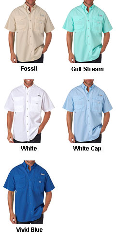 Columbia® Bonehead Shortsleeve Fishing Shirt - All Colors