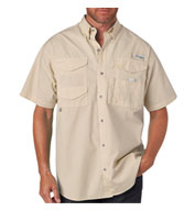 Custom Columbia Mens Bonehead™ Short Sleeve Fishing Shirt