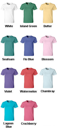 Ladies 100% Ring - Spun Pigment Dyed Comfort Colors T-shirt - All Colors