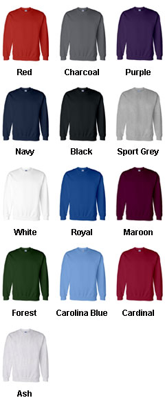Gildan Adult  DryBlend™ Crew Neck Sweatshirt - All Colors