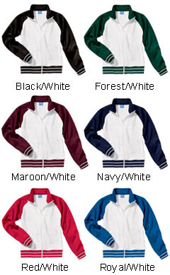 Girls Medallion Jacket by Charles River Apparel - All Colors