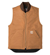 Custom Duck Vest  With Arctic Quilt Lining Mens