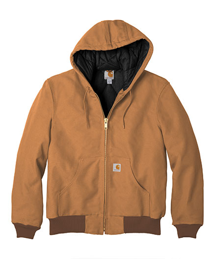 8ea1c2d78f Customize Carhartt Duck Active Jacket with Quilted Flannel Mens