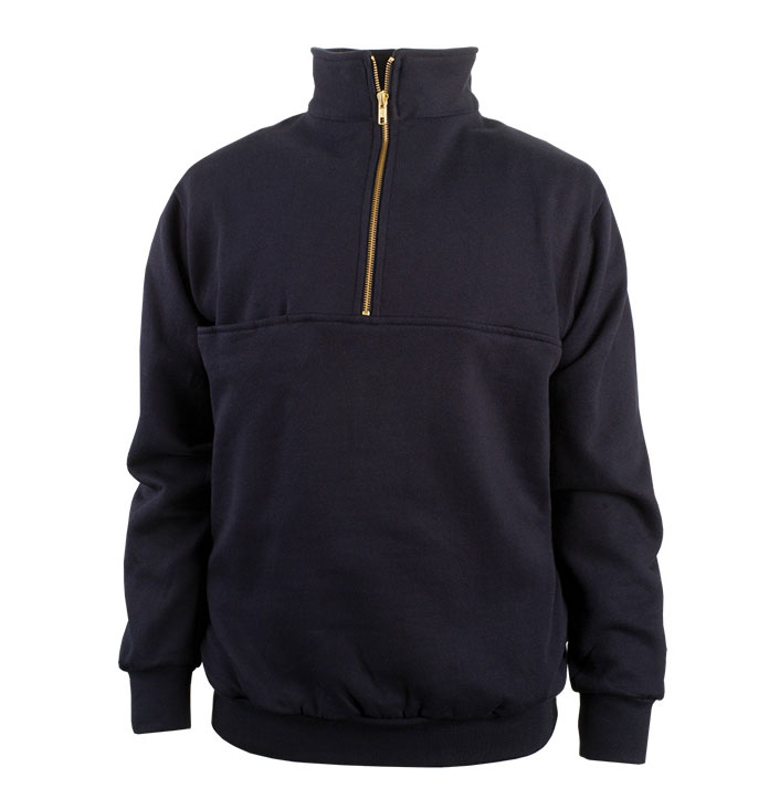 The Firefighters Zip Turtleneck