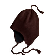Knit Hat with Earflaps
