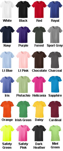 Gildan Ladies T-shirt - All Colors
