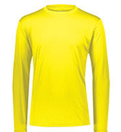 Custom Adult Long Sleeve Moisture Wicking T-shirt Mens
