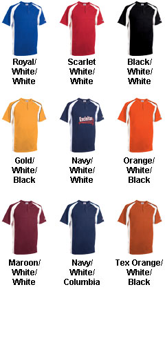 Knuckler Adult 2-Button Placket Baseball Jersey - All Colors