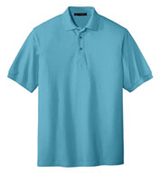 Custom Port Authority® Mens Silk Touch™ Polo