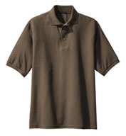 Custom Port Authority® Mens Extended Size Silk Touch™ Polo
