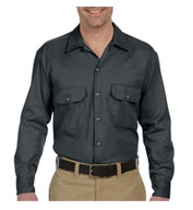 Custom Dickies Unisex Long Sleeve Twill Workshirt