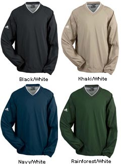 ADIDAS ClimaProof® V-Neck Windshirt - All Colors