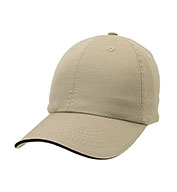 Custom Apollo Unconstructed Chino Washed Cotton Twill Sandwich Cap