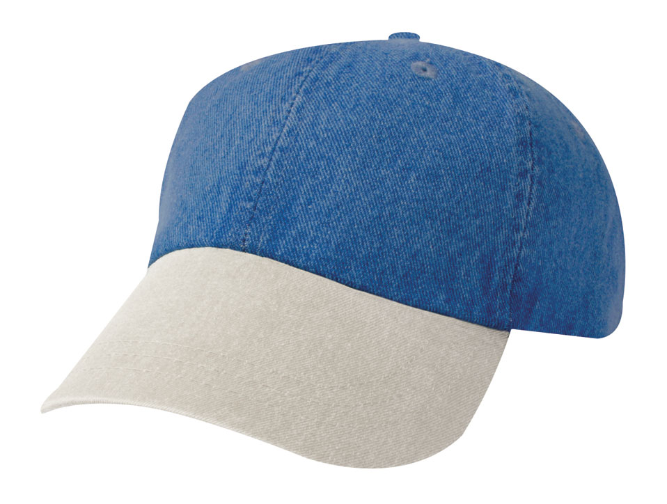 Unconstructed Washed Denim Cap