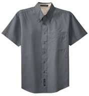 Mens Easy Care, Wrinkle Resistant Short Sleeve Shirt