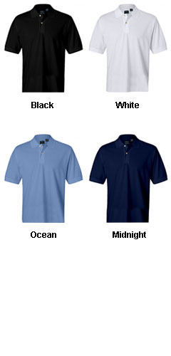Izod Mens Classic Silk-Washed Pique Polo - All Colors