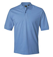 Custom Izod Mens Classic Silk-Washed Pique Polo