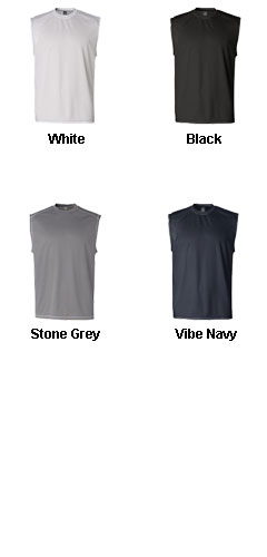 Champion Double Dry® Sleeveless Tee with Odor Resistance - All Colors