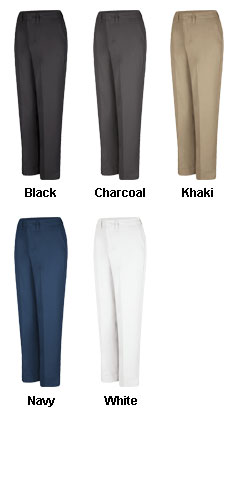 Ladies Side Elastic Insert Pant - All Colors