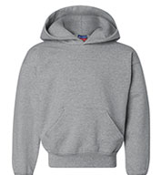 Custom Champion Heavyweight Youth Pullover Hooded Sweatshirt