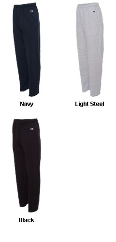 Champion 50/50 Double Dry Eco® Fleece Open Bottom Pant - All Colors