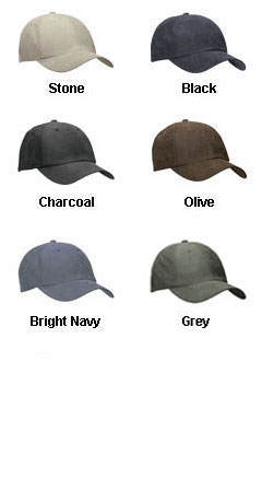 Sueded Low Profile Cap - All Colors