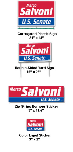 Political Campaign Kit - All Colors