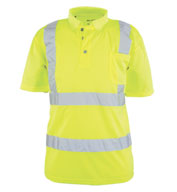 Custom TheANSI/ISEA 107-2015 Class 2  Foreman Polo Mens