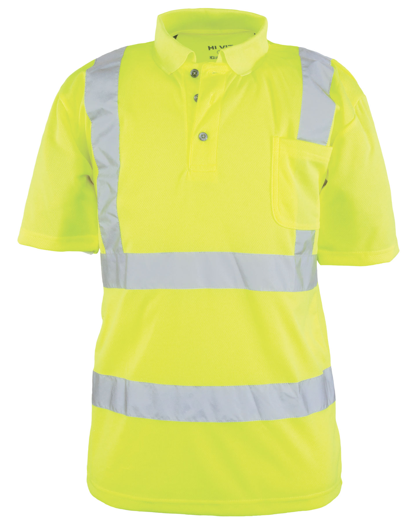 The ANSI/ISEA 107-2015 Class 2  Foreman Polo