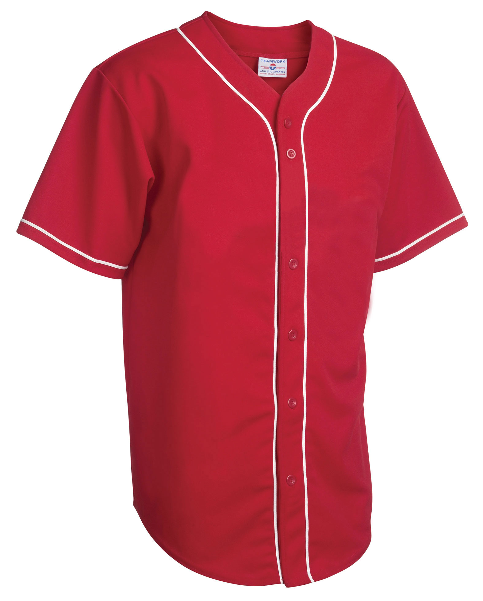 Teamwork Youth Walk Off Baseball Jerseys with Sewn-On Braid - CLOSEOUT