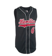 Custom Teamwork CLOSEOUT - Youth Pinch Hitter Sleeveless Pro Weight Baseball Jersey