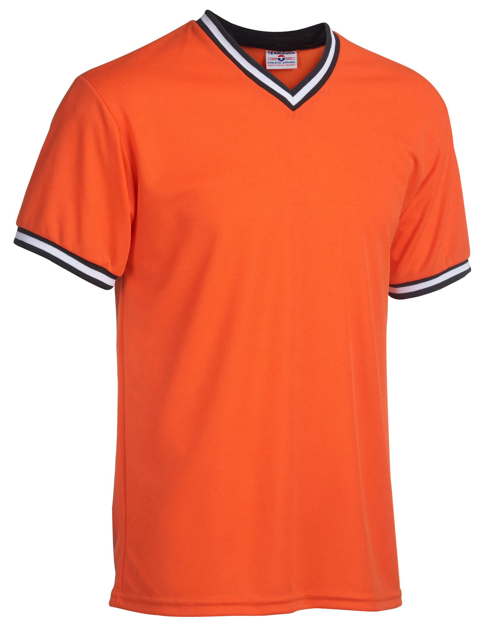 Teamwork Youth V-Neck Baseball Shirt - CLOSEOUT