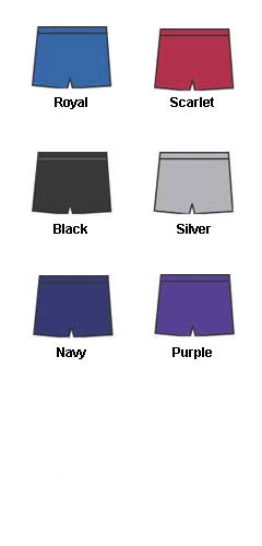 Ladies Solid Softball Short - All Colors