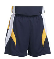 Custom Youth Girls Deluxe Stinger Cool Mesh Softball Shorts