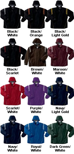 Youth Titan Hooded Jacket. Comes In Twelve  Colors - All Colors